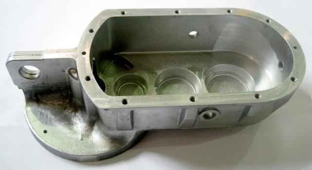 Caja reductora aluminio