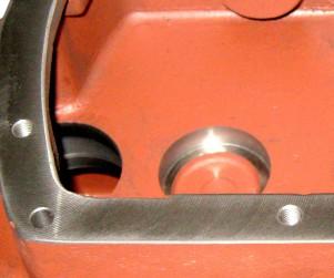 Foto de detalle de Caja Reductora Fundición - Mecanizados Dorri