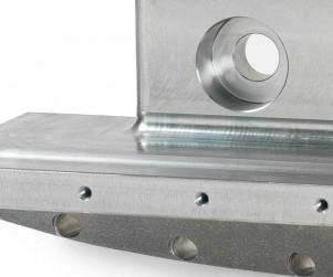 Foto de detalle de soporte lateral - Mecanizados Dorri