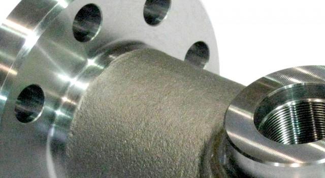 Detalle de una válvula de Mecanizados Dorri.