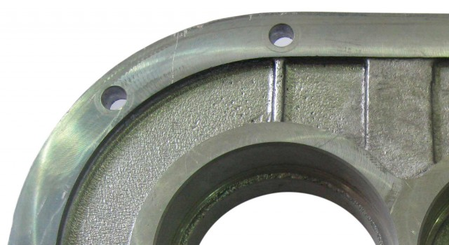 Foto de detalle de tapa caja reductora - Mecanizados Dorri